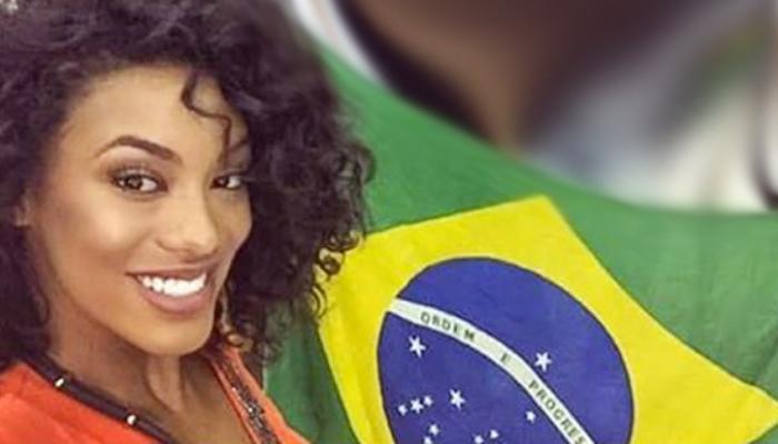 Exclusivo: Raissa Santana faz prova de roupa para o Miss Universo