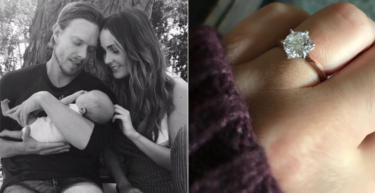 Camilla Luddington conta como foi o seu pedido de noivado e mostra fotos de seu belo anel