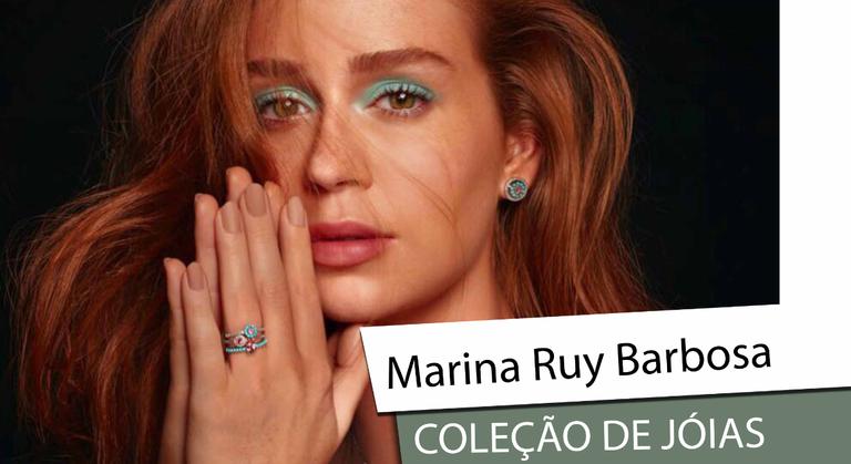 Marina Ruy Barbosa lança linha de joias