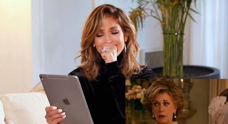 Jennifer Lopez recorda imprevisto nas gravações do filme ''A sogra''