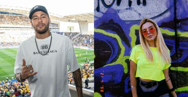 Neymar reage foto de Giovanna Lancellotti nua na banheira e web vai à loucura: ''Casal lindo''