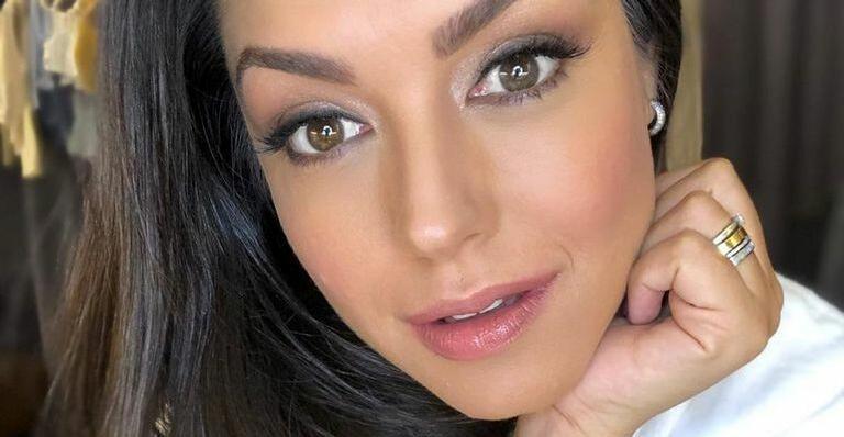 Esposa de Michel Teló usa maquiagem no estilo ''Anitta'' e impressiona