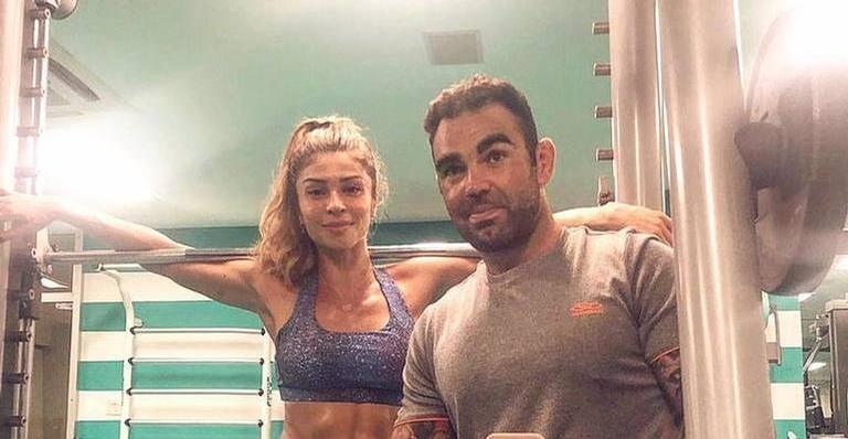 Grazi Massafera exibe corpo todo suado após treino de domingo