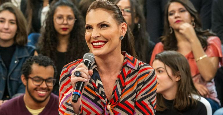 Laura Muller, sexóloga do ''Altas Horas'', revela que recebe nudes do público