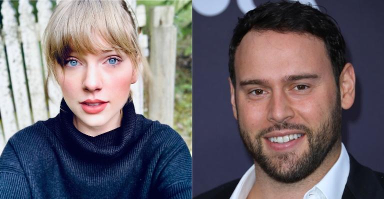 Scooter Braun parabeniza Taylor Swift pelo lançamento do álbum e cantora ironiza atitude na rádio