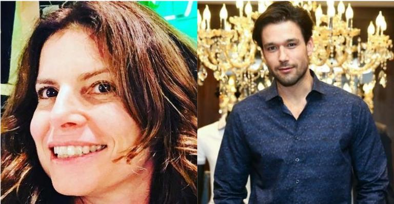 Ex-namorados, Débora Bloch e Sérgio Marone mostraram que o término do relacionamento foi de forma afetuosa