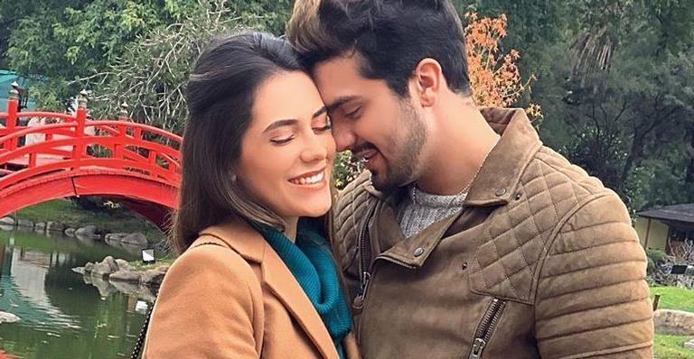 Luan Santana fica noivo de Jade Magalhães depois de 12 anos de namoro
