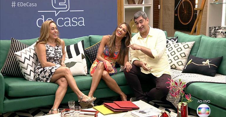 Apresentadora volta para a Globo após 22 anos e entra no ''É De Casa''