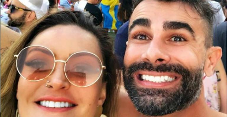 Laura Keller, esposa de Jorge Sousa, chora de saudades do marido nas redes sociais