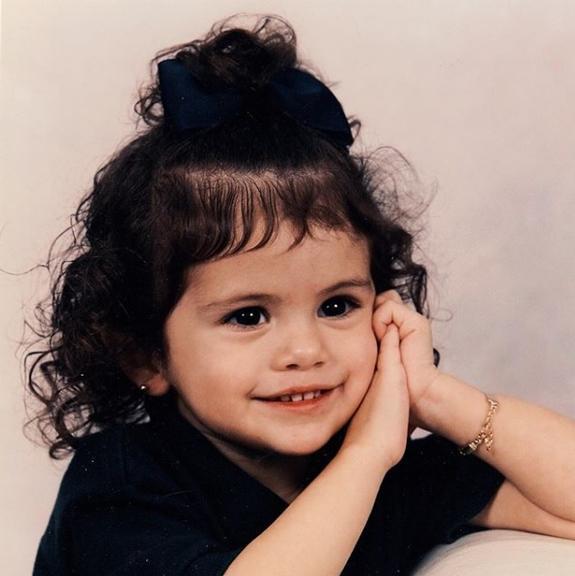 Selena Gomez criança