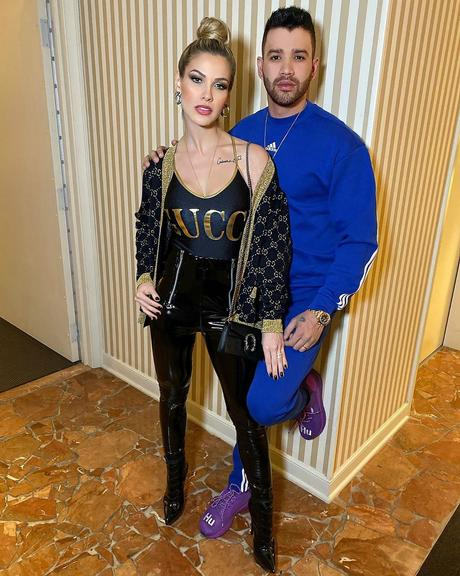 Andressa Suita aposta em look da Gucci de quase R$10 mil