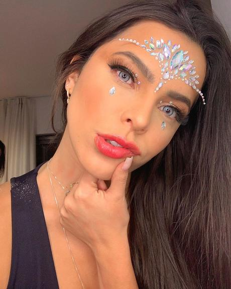 Sister esbanjou beleza no Instagram