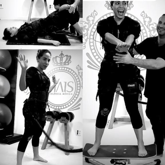 Anitta mostra treino com vestimenta que potencializa resultados