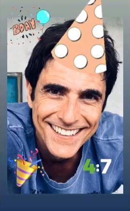 Reynaldo Gianecchini comemorando 47 anos