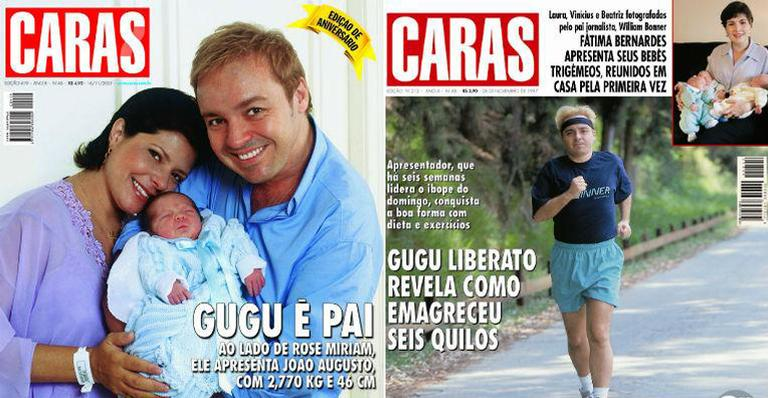 Relembre os momentos mais marcantes da vida de Gugu Liberato na revista CARAS