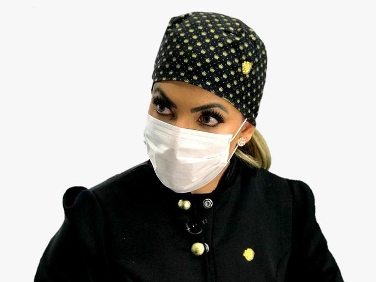 Dra. Natalie Rodrigues, biomédica e cirurgiã dentista