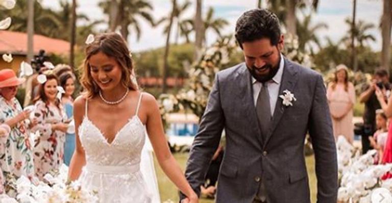 Sorocaba, dupla com Fernando, se declara para Biah Rodrigues após casamento