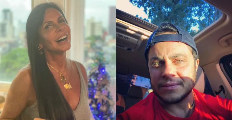 Gretchen usa as redes sociais para se declarar para Thammy Miranda e Andressa Ferreira depois do nascimento de Bento