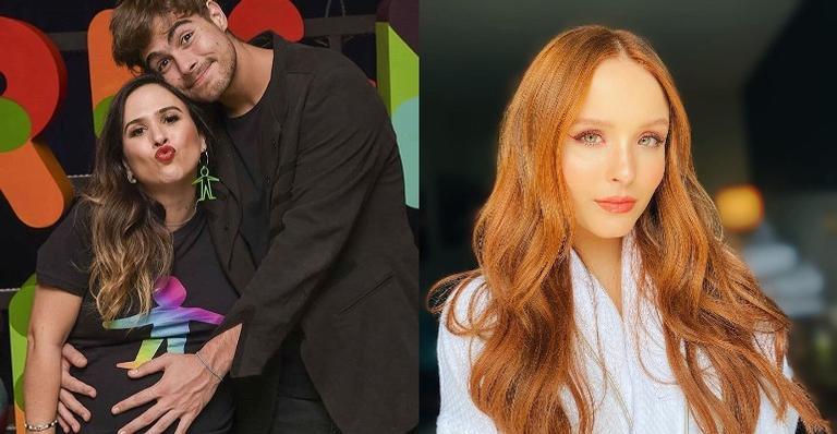 Tata Werneck comenta sobre parceria de Rafa Vitti e Larissa Manoela em nova novela