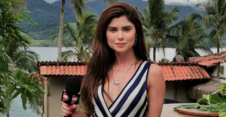 A atriz apresenta os ambientes exclusivos criados para Ilha de CARAS