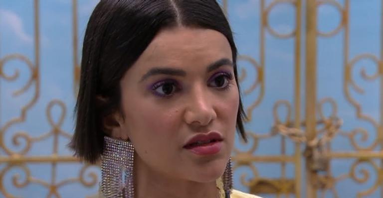 Manu Gavassi se irrita e debocha de Hadson após ser chamada de 'enfeite' no Big Brother Brasil 2020