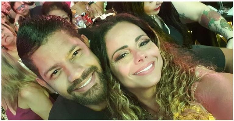 Viviane Araújo nega estar grávida do namorado Guilherme Militão