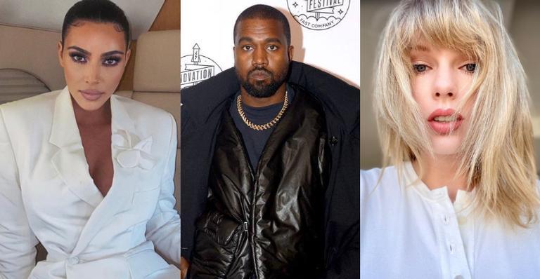 Eita! Kim Kardashian chama Taylor Swift de ''mentirosa'' após vazamento de áudio; assessora rebate
