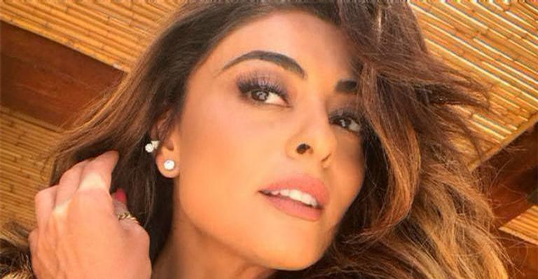 Juliana Paes mostrou o bumbum perfeito nas redes sociais