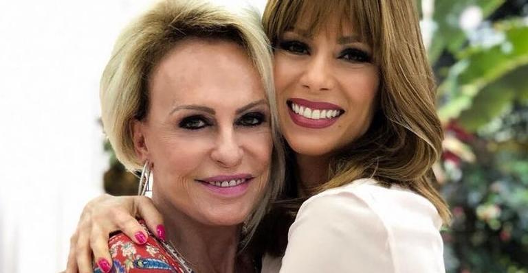 Ana Furtado emociona ao parabenizar Ana Maria Braga: ''Guerreira''