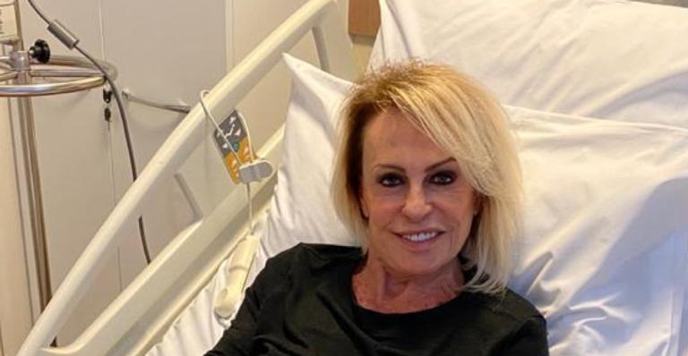 Durante quimioterapia, Ana Maria Braga recebe surpresa de aniversário no hospital e emociona web