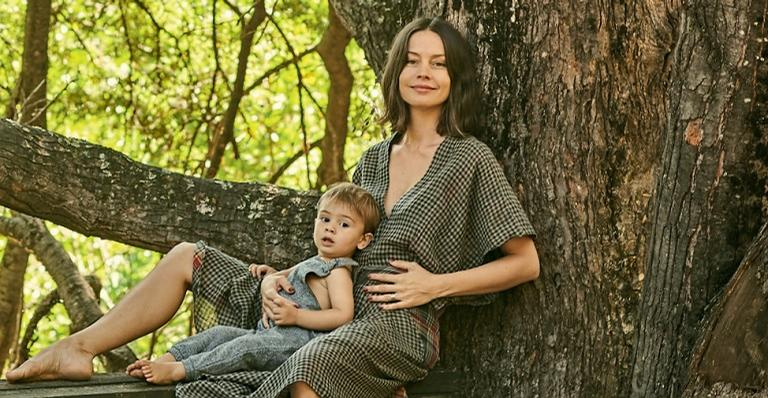 Com o marido, o fotógrafo Gustavo Zylbersztajn, a brasileira aumenta a família no Chile