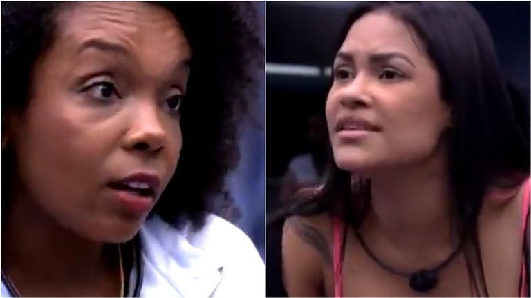 Flayslane xinga Thelma ao vivo de planta e web reage: ''Maldosa e grosseira!''