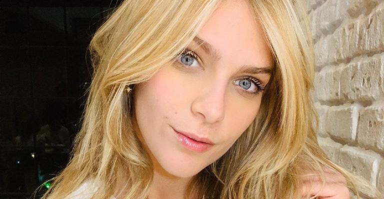 Isabella Santoni usa as redes sociais para aconselhar os internautas em momentos difíceis