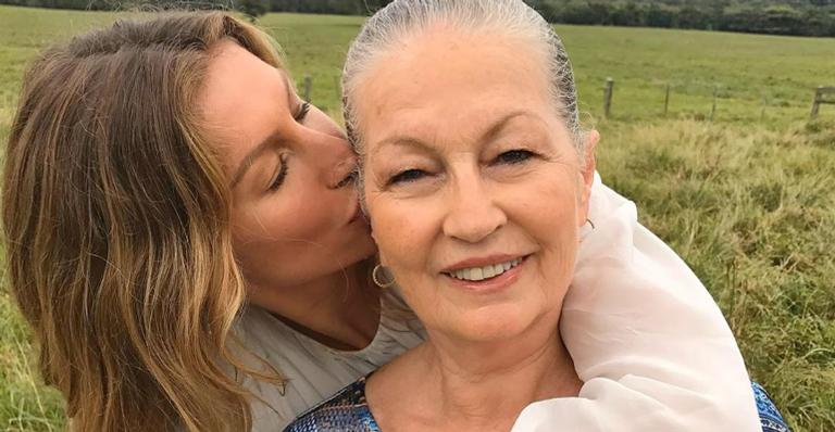 Gisele Bündchen se declara para a mãe e comove internautas: ''Exemplo de amor e força''