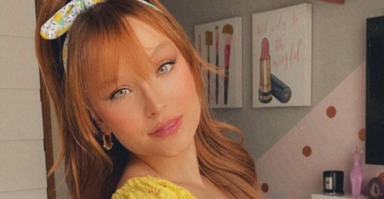 Larissa Manoela deixou os fãs de queixo caído ao surgir deslumbrante em novo clique