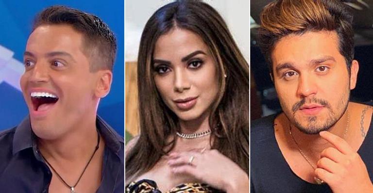 Leo Dias expõe suposto encontro sexual entre Anitta e Luan Santana