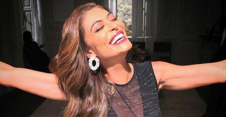 Juliana Paes exibe lembrança deslumbrante com Marina Ruy Barbosa