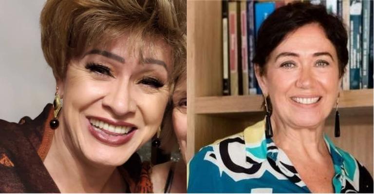 Lilia Cabral parabeniza Nany People com bela homenagem: ''Te amo''