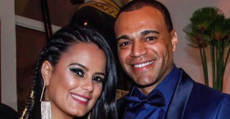 Denilson se declara para Luciele Di Camargo: ''Todos os dias ao seu lado eu comemoro''