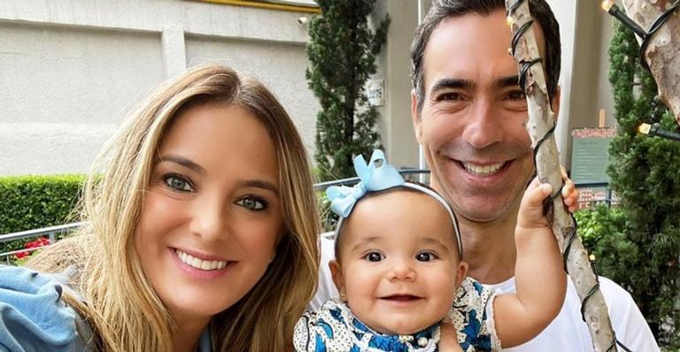 A filha de Ticiane e César Tralli está completando 1 ano de vida