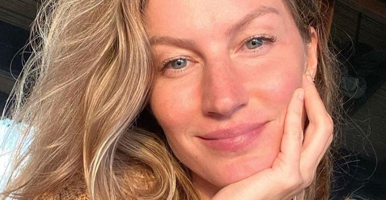 Gisele Bündchen usa as redes sociais para compartilhar vídeo de sua rotina diária de exercícios