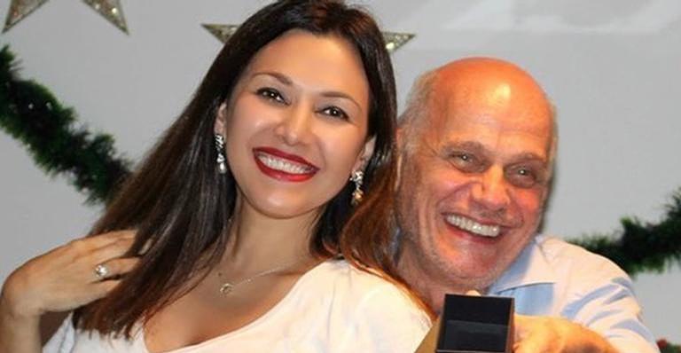 Veruska emociona ao relembrar aniversário de Ricardo Boechat: ''Pra sempre''