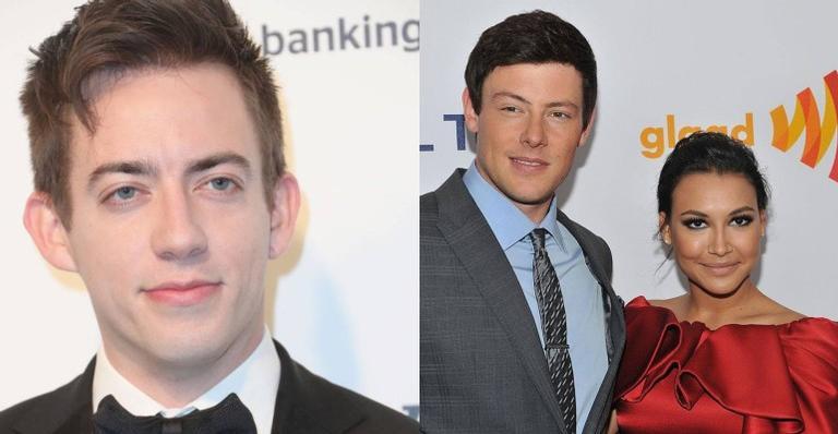 Participante do elenco de Glee, Kevin McHale se declara para Naya Rivera e Cory Monteith