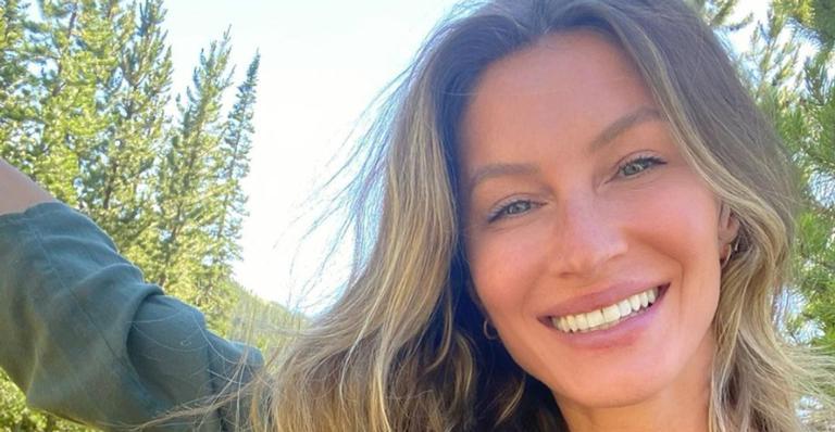 Após completar 40 anos, Gisele Bündchen agradece carinho: ''Me sinto abençoada por ter tanto amor''
