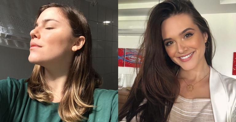 Alice Wegmann compartilha clique antigo ao lado de Juliana Paiva