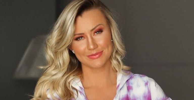 Ana Paula Siebert se declara para o marido e para Rafa Justus e encanta internautas