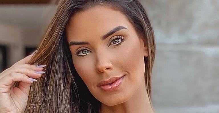 Ex-BBB Ivy Moraes arrancou suspiros dos seus seguidores