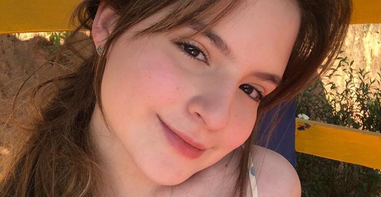 Sophia Valverde celebra primeira protagonista no cinema: ''Muito feliz''