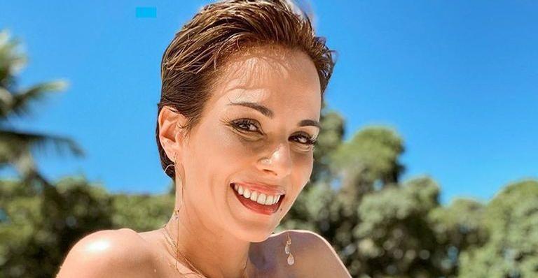 Ana Furtado encanta internautas ao compartilhar clique raro ao lado da filha, Isabella