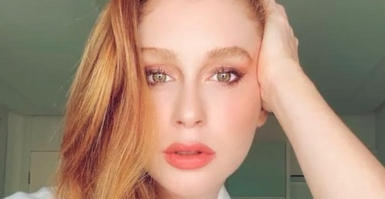 Marina Ruy Barbosa chamou a atenção no Instagram
